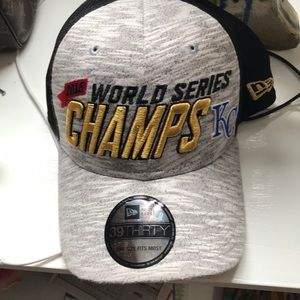 2015 Kansas City Royals World Series b-ball cap